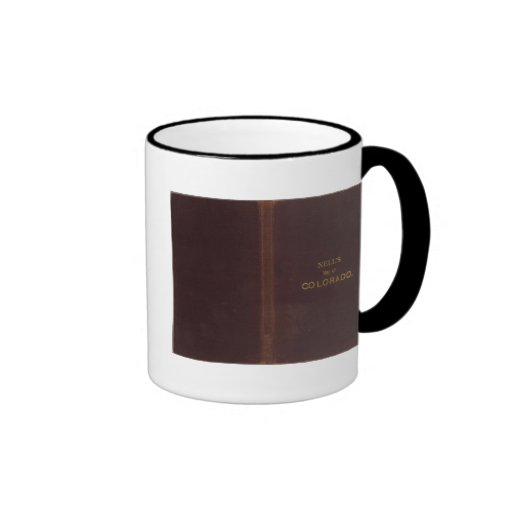 Nell's Topographical Map of Colorado 2 Mug