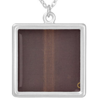 Nell's Topographical Map of Colorado 2 Silver Plated Necklace