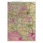 Nell's Topographical Map of Colorado Card