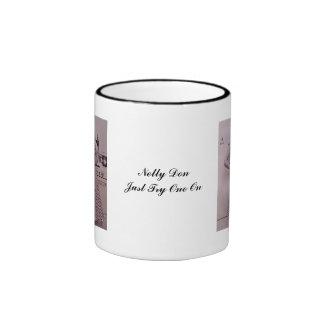 Nelly Don Model Ringer Mug