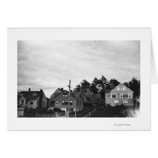 Nelscott, Oregon Cottages on Pacific Ocean Card
