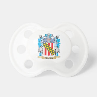 Nelson Coat of Arms - Family Crest Pacifier