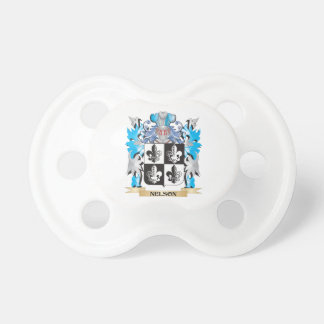 Nelson- Coat of Arms - Family Crest Baby Pacifier