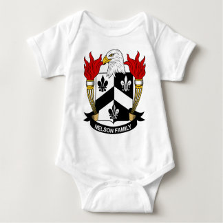 Nelson Family Coat of Arms T Shirt