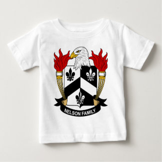 Nelson Family Coat of Arms Tshirts