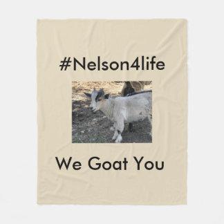 Nelson for Life Fleece Blanket