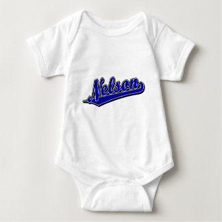 Nelson in Blue Infant Creeper