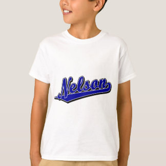Nelson in Blue T Shirt