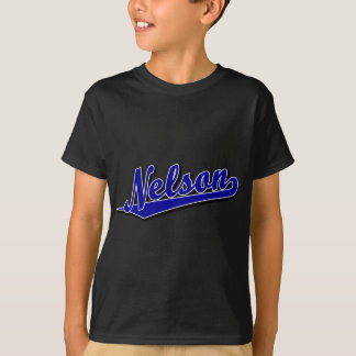 Nelson in Blue T Shirts