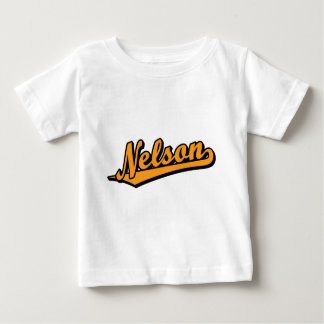 Nelson in Orange Baby T-Shirt