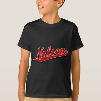 Nelson in Red Tshirts