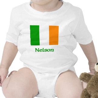 Nelson Irish Flag Rompers