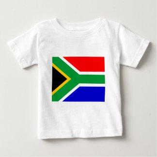 Nelson mandela south africa flag baby T-Shirt