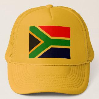 Nelson mandela south africa flag trucker hat