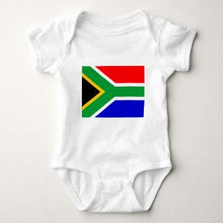 Nelson mandela south africa flag tshirt