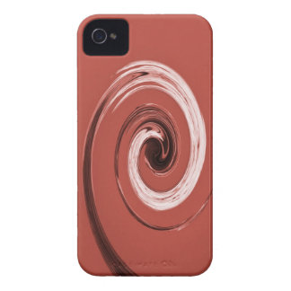 Nelson Swirl Red iPhone 4 Covers