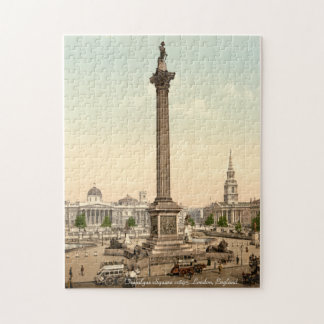 Nelson's Column, Trafalgar Square London Jigsaw Puzzle