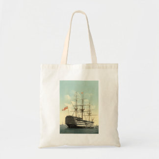 Nelson's HMS Victory Budget Tote Bag