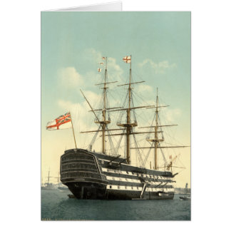 Nelson's HMS Victory Greeting Card