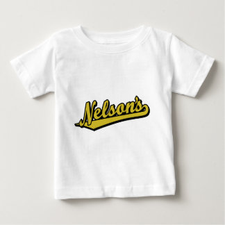 Nelson's in Gold Baby T-Shirt