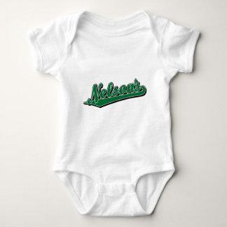 Nelson's in Green Baby Bodysuit
