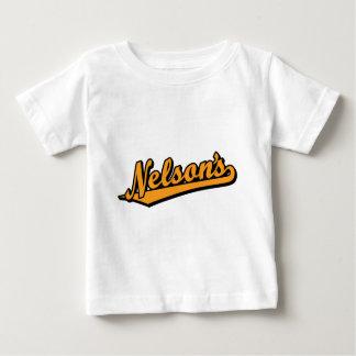 Nelson's in Orange Shirts