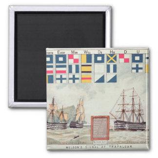 Nelson's signal at Trafalgar Magnet