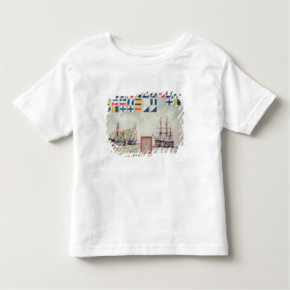 Nelson's signal at Trafalgar Toddler T-Shirt