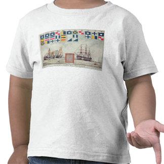 Nelson's signal at Trafalgar T Shirts