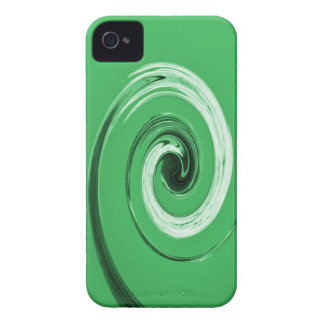 Nelsons Swirl Green iPhone 4 Cases
