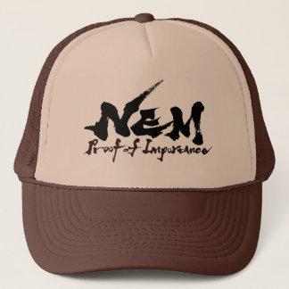 #NEM Proof of Importance Trucker Hat