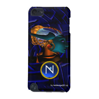 NEMES /HYPER ANDROID,Blue Science Fiction Monogram iPod Touch 5G Covers