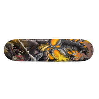 Nemesis Kaiju Skateboard Deck - Art by Matt Frank