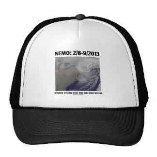 Nemo: 2/8-9/2013 Winter Storm Record Books Trucker Hat