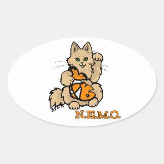NEMO Car Stickler Oval Sticker