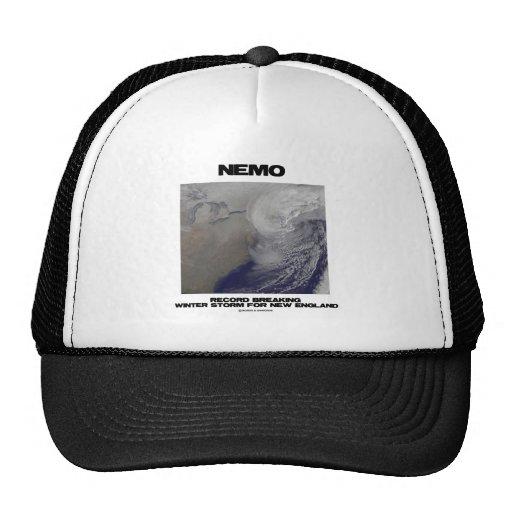 Nemo Record Breaking Winter Storm For New England Trucker Hats