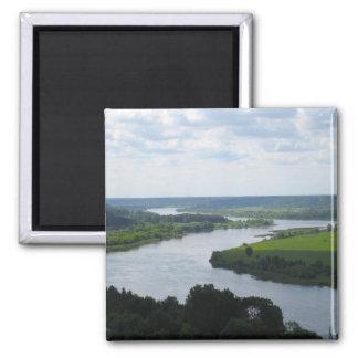 Nemunas River at Vilkija, LITHUANIA --- Magnet