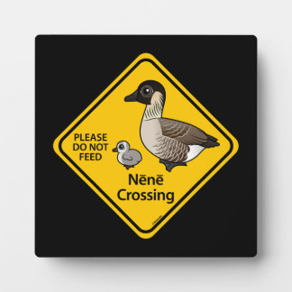 Nene Crossing Display Plaque