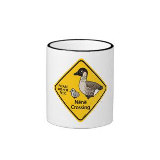 Nene Crossing Coffee Mugs