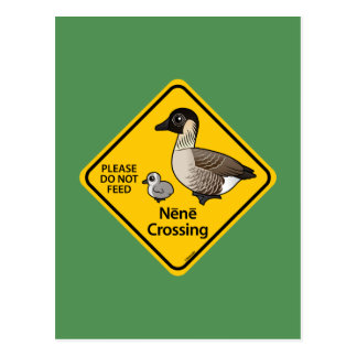 Nene Crossing Postcard