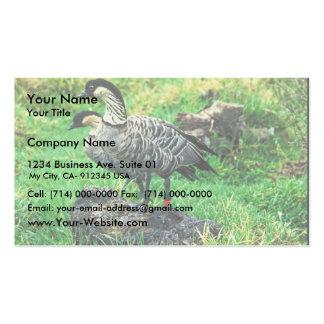 Nene Geese (Hawaiian) Business Card