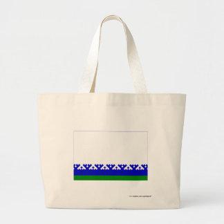 Nenets Autonomous Okrug Flag Jumbo Tote Bag