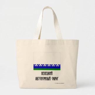 Nenets Autonomous Okrug Flag Canvas Bags