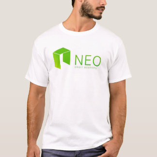 NEO Blockchain Smart Economy Cryptocurrency T-Shirt