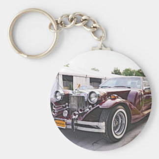 Neo-Classic Zimmer Sports Coupe Basic Round Button Key Ring