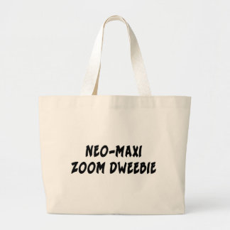 NEO-MAXI ZOOM DWEEBIE JUMBO TOTE BAG