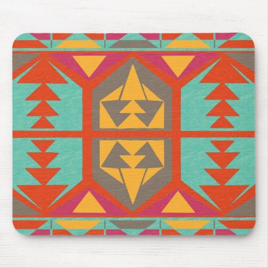 Neo Native Tribal Mouse Mat
