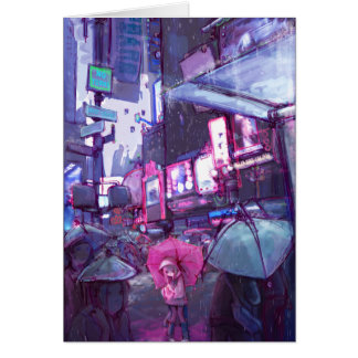 Neo New York Note Card
