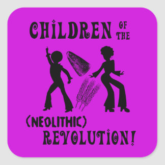 Neolithic Revolution Stickers