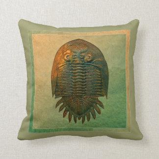 Neometacanthus Fossil Trilobite Cushion